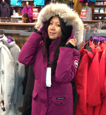 Thrilled to Meet You: Canada Goose Trillium Parka